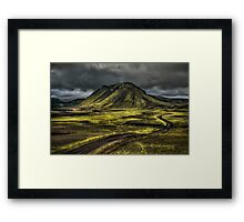The Mountain Pass Framed Print