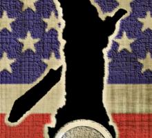 New USA T-shirt Sticker