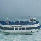 The Maid of the Mist at Niagara Falls, Canada by logonfire