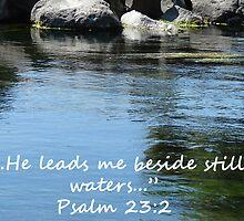 """""""Psalm 23:2""""  by Carter L. Shepard by echoesofheaven"""