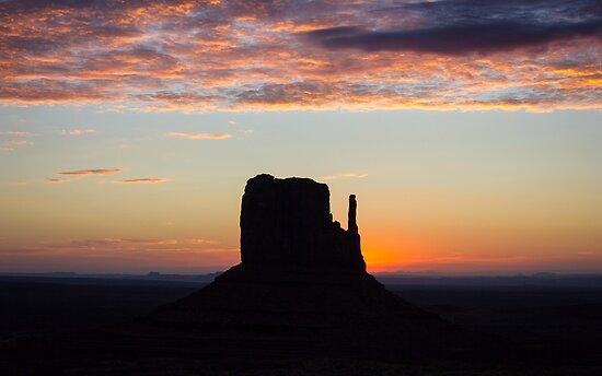 West Mitten Sunrise by Philip Kearney