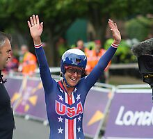 Kristen Armstrong - Gold Women`s Individaul Time Trial - London 2012 by Colin J Williams Photography