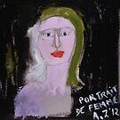 Portrait de femme by AgnesZirini