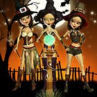Sisters Three Enchanting Witches by xgdesignsnyc