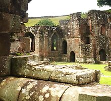 Furness Abbey Infirmary by Colin Bentham