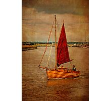 Old sailing boat Photographic Print