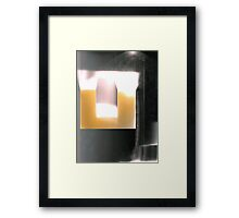 Walls and Windows 3 Framed Print