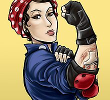 We can do it ROLLER DERBY by swinku