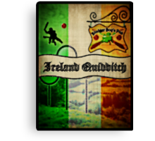 New Ireland Quidditch Canvas Print