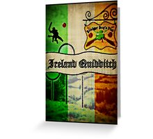 New Ireland Quidditch Greeting Card