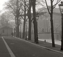 Hermitage Amsterdam and Nieuwe Herengracht by Pim Kops