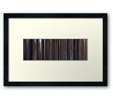 Moviebarcode: The Shawshank Redemption (1994) Framed Print