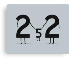 2 + 2 = 5 Canvas Print