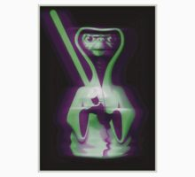 E.T. with a light saber  by Ileah