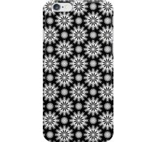 Black And White -Abstract Stars Pattern iPhone Case/Skin