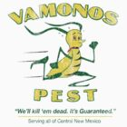 Vintage Vamanos Pest by colorhouse