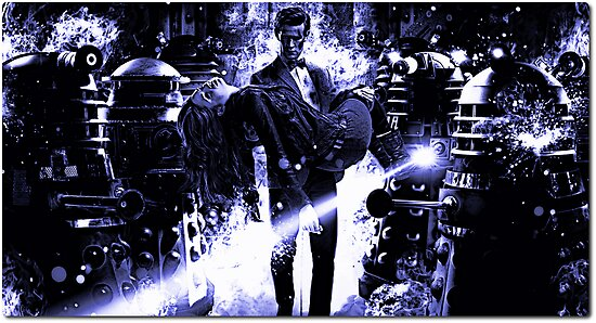 Doctor Who Daleks Series 7 by James Coppin