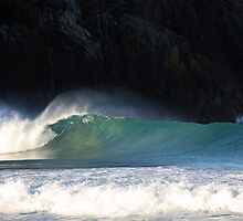 Afternoon light at Zenith Beach by Timothy John Keegan
