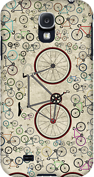 Love Fixie Road Bike by Andy Scullion