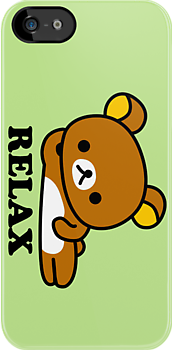 Rilakkuma - Relax Bear by PineappleBunny
