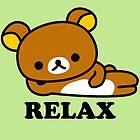 Rilakkuma - Relax Bear by PineappleBunny