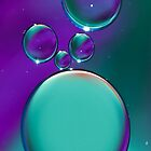 Blue Bubble's by HanieBCreations