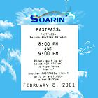 Soarin&#x27; FastPass by Margybear