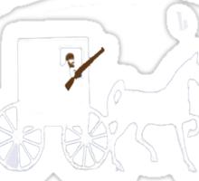 """Amish Rifle"" Ryan Fitzpatrick Shirt Sticker"