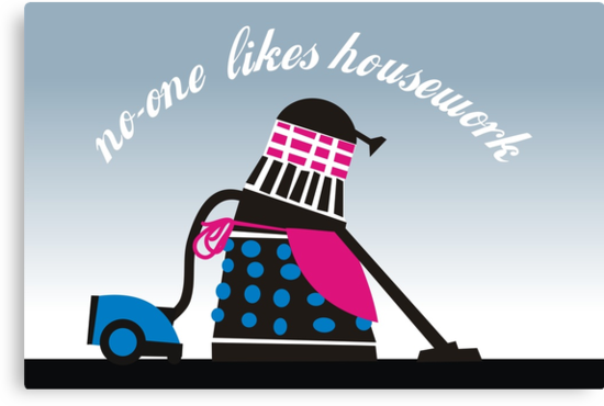 no-one likes housework by Matt Mawson