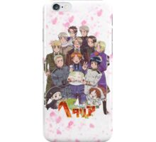 Hetalia Tee iPhone Case/Skin
