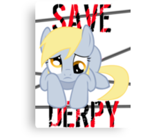 Save Derpy Canvas Print