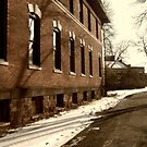Overbrook Asylum - Walking The Front Path by Jane Neill-Hancock