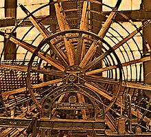 Silk Industry Spinning Machine by Jane Neill-Hancock