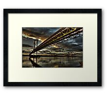 Steel Giants Framed Print