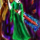 Queen of Golden Lights by duskoffaerie