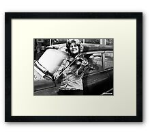 THE FIDDLE PLAYER Framed Print