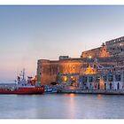 Valletta - Grand Harbour by refar
