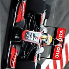 Lewis Hamilton Mclaren F1  by David Smith