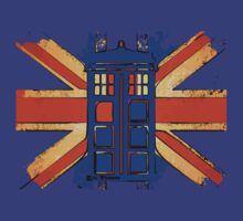 Dr Who - The Tardis - Vintage Jack by eyevoodoo