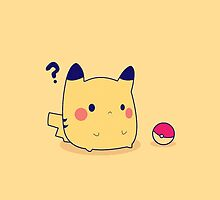 Pikachu Pokeball by dtdream