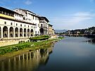 The Beautiful Arno River by Lucinda Walter