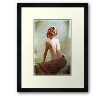 Tiara and Tub Framed Print