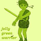 Jolly Green Warrior by kokil