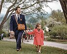 Father & daughter at Rochester Lilac Festival 1957 05120025 by Fred Mitchell