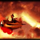 The Red Baron by Rookwood Studio 