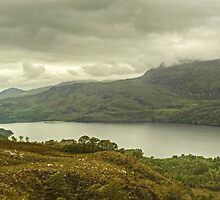 Loch Maree and Slioch by VoluntaryRanger