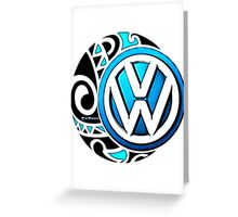 VDub Moonari Greeting Card