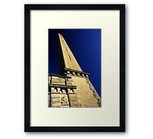 Salt's Mill Chimney Framed Print