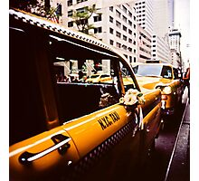 Vintage NYC Taxi Photographic Print