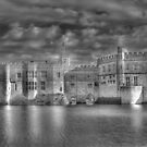 Leeds Castle in Black and White by Chris Thaxter